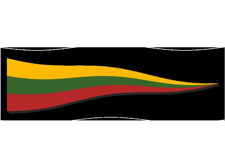 Lietuvos Respublikos vimpelas  (trikampė vėliava)