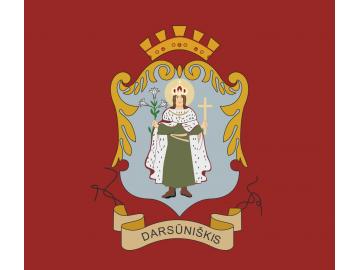 Darsūniškio vėliava