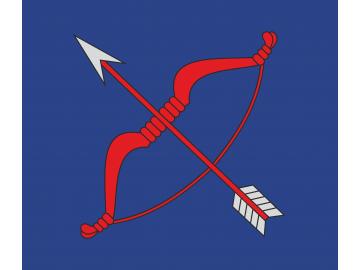 Tryškių vėliava