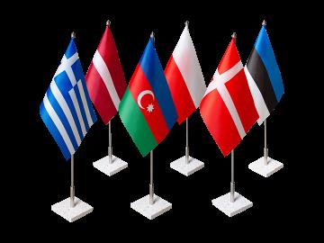 Pasirinktos valstybės stalo vėliavėlė