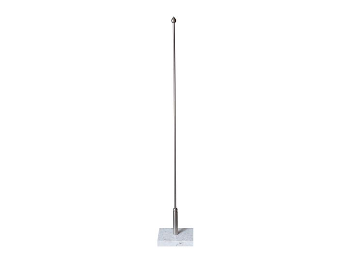 Marmurinis stalo vėliavėlės stovelis