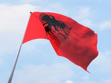 Albanijos vėliava
