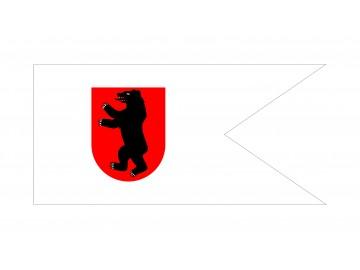 Žemaitijos istorinė vėliava (meška be antkaklio)